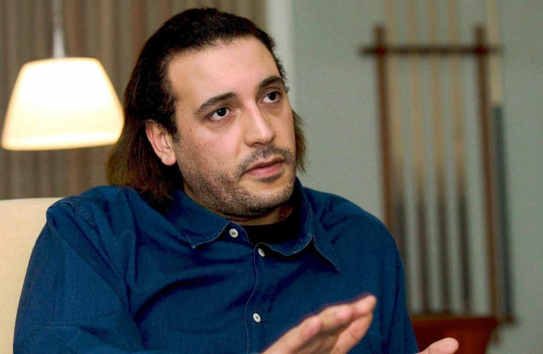 Hannibal al-Gaddafi (Archivbild aus dem Jahr 2005)    Foto: dpa