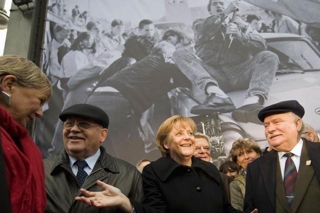 Berlin feiert und die Welt feiert mit