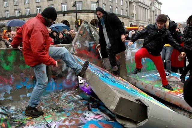 20 Jahre Mauerfall: Die ganze Welt feiert mit