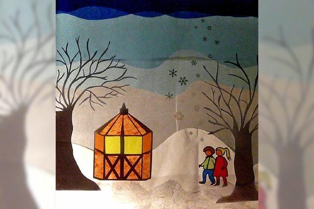 Zauber der Adventsfenster