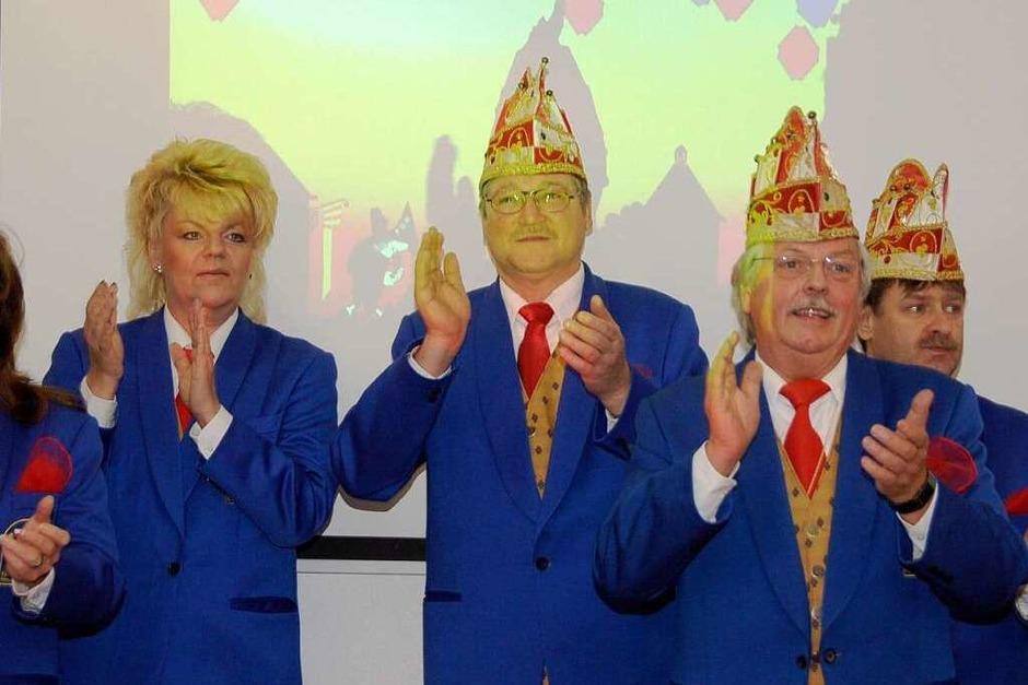 Fasnachtsproklamation und Nierliessen am 11.11. im Hotel Danner in  Rheinfelden (Foto: Ingrid Böhm-Jacob)