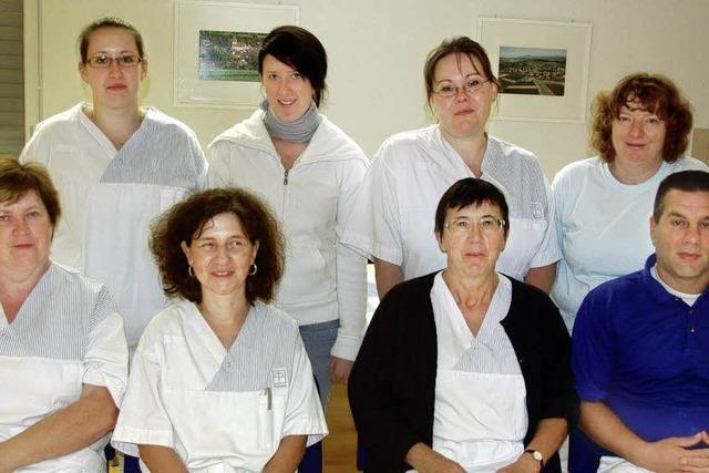 Zehn bis 20 Hausbesuche absolviert jede Krankenschwester am Tag