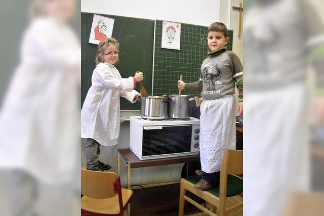 Kürbissuppe und Synagogenbesuch
