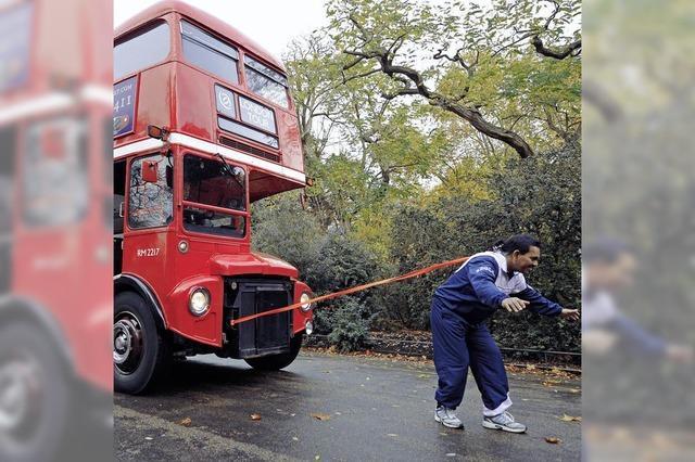 Ein Bus am Zopf