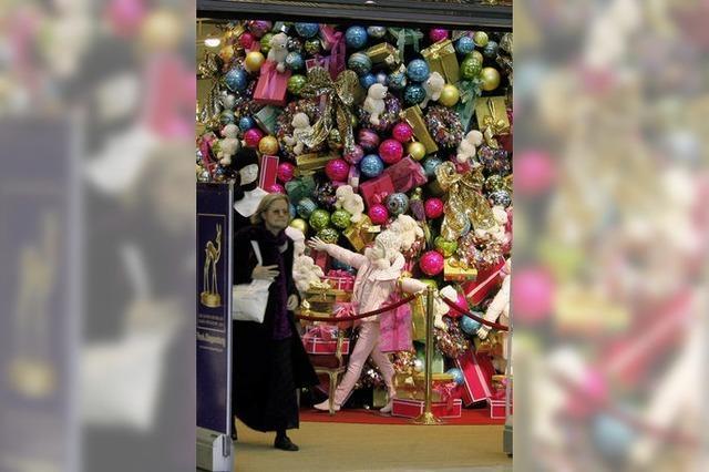 Weihnachten bleibt Fest der Geschenke