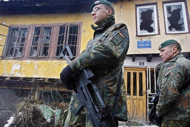 Stimmungstest im Kosovo