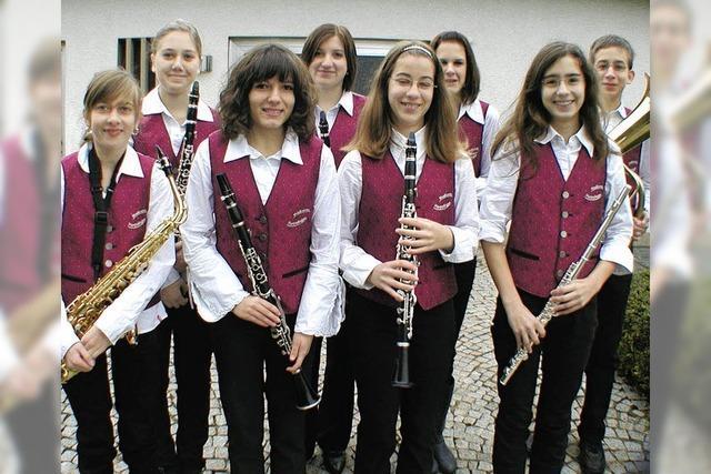 Musikverein ist stolz auf den Nachwuchs