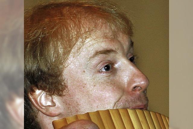 Klangexperimente auf der klassischen Panflöte