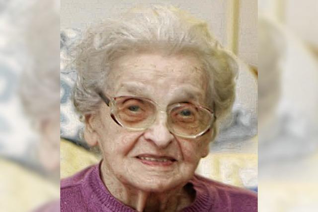 Johanna Magdalena Fehr feiert den 100.