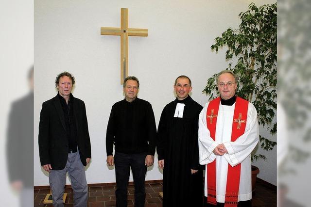 Ein Symbol des Lebens und der Hoffnung in der Kapelle