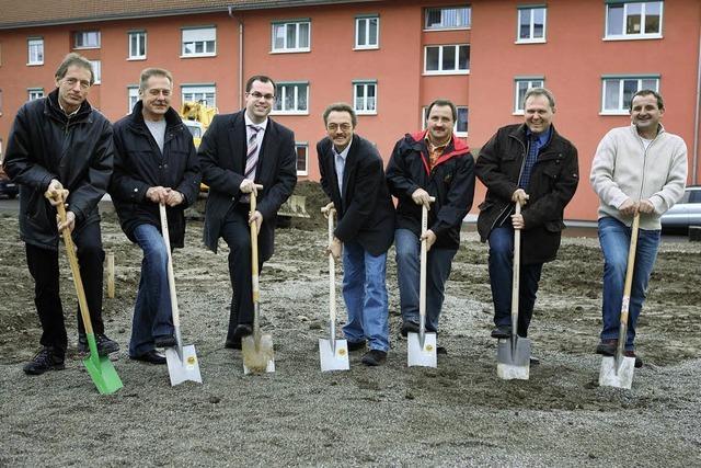Eine Baulücke für acht Familien