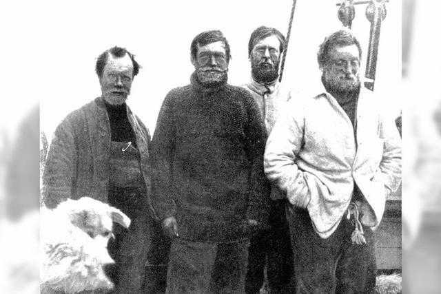 Shackletons Whisky wird gehoben