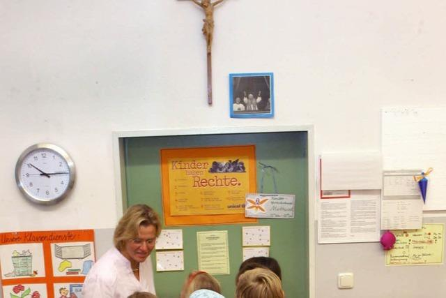 Gehören Kreuze ins Klassenzimmer?