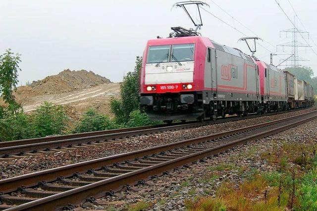 Rheintalstrecke: Regierungspräsidium lehnt Bahnpläne ab