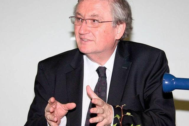 Julian Würtenberger sprach in Schelingen