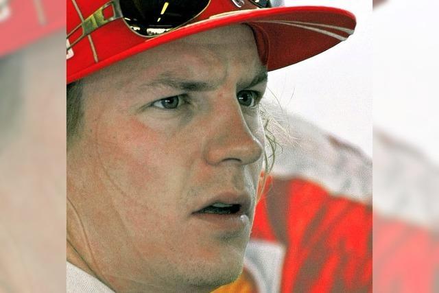 Formel 1 ohne Räikkönen