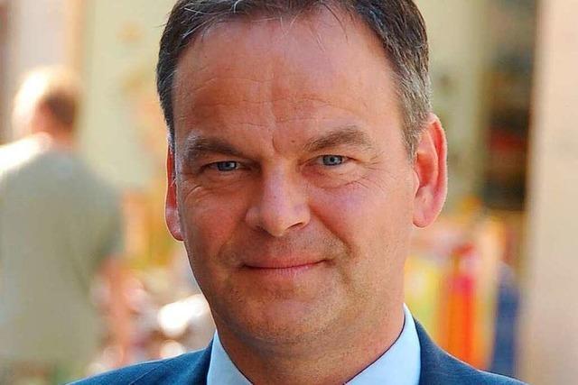 Landrat Frank Scherer: