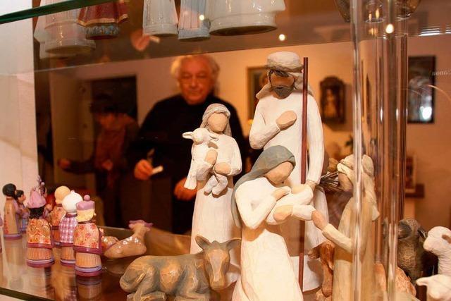 Engel, Christkinder, Madonnen: Krippenausstellung in Minseln