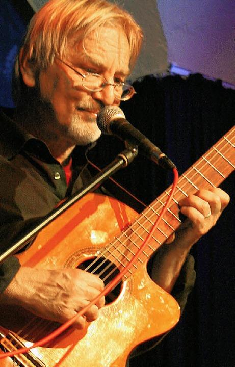 Gerald Lüneburgers Liebe gehört dem Blues.  | Foto: charlotte Wittnebel