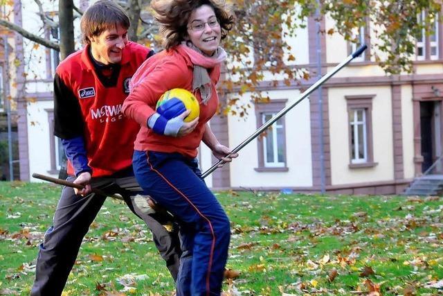 Quidditchteam an der Uni Freiburg: Magisches Schrubberreiten