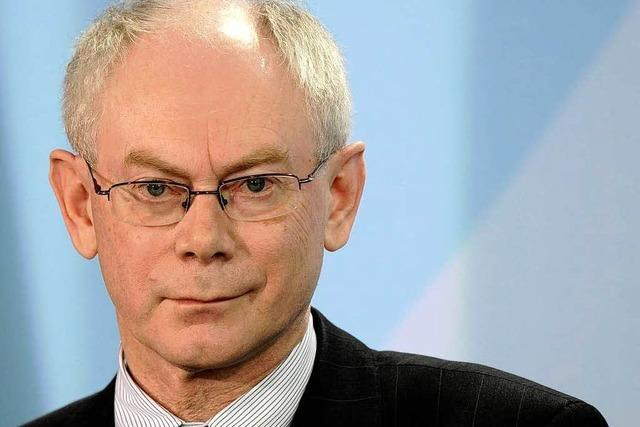 Van Rompuy erster ständiger EU-Ratspräsident