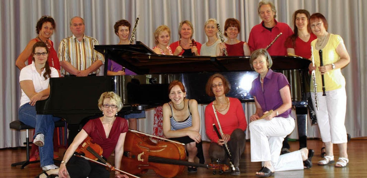 Zugunsten der BZ-Weihnachtsaktion konz...der Musikschule Nördlicher Breisgau.    | Foto: Veranstalter