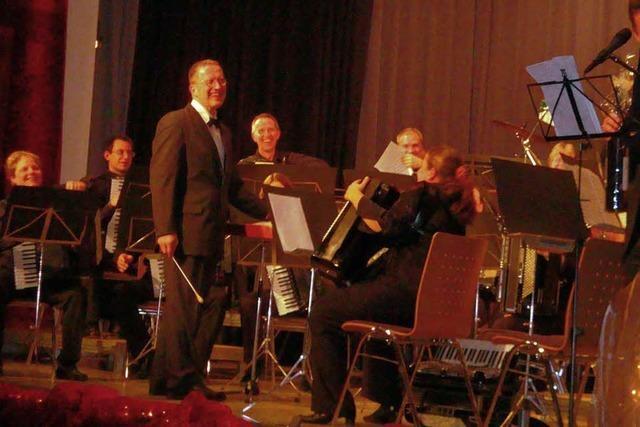 Zwei Orchester – ein Konzert
