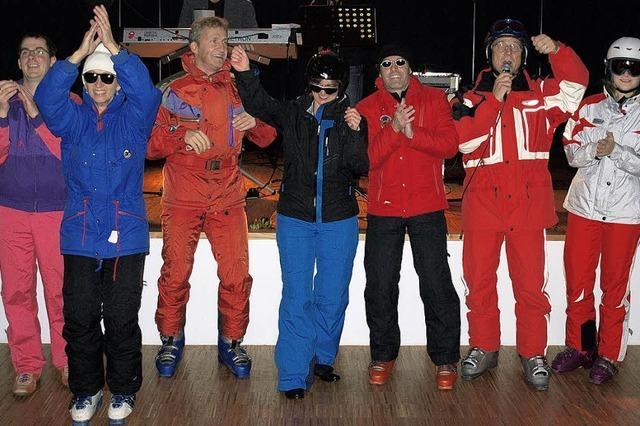 Stimmung im Ski-Stadl