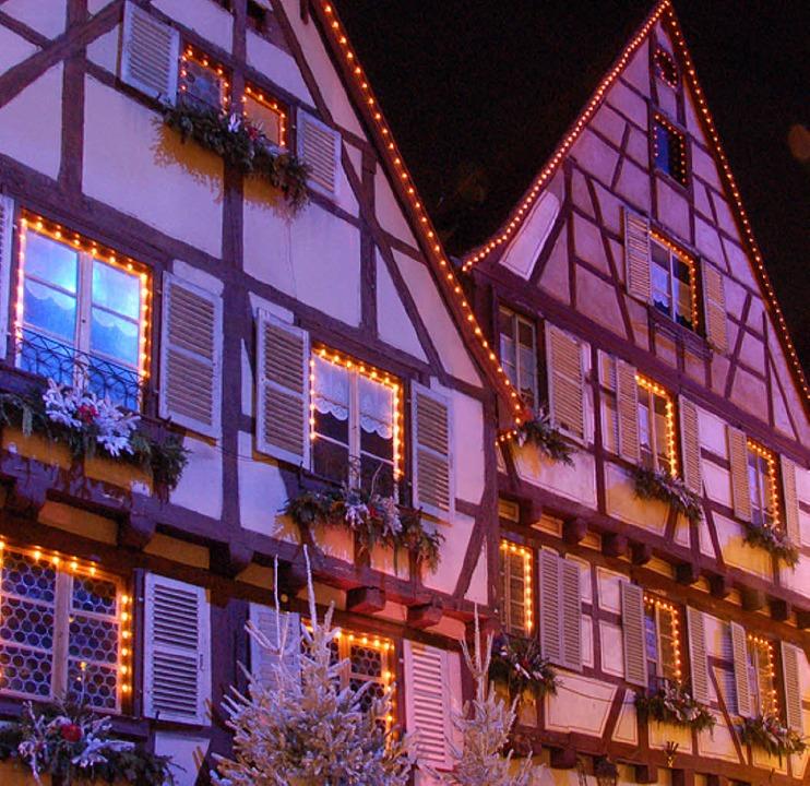 Vorweihnachtliche Stimmung in Colmar  | Foto: Andrea Schiffner