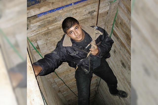 Gefährliche Untergrundarbeit