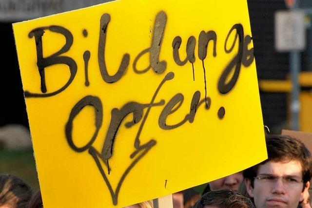 Studenten aus dem ganzen Land demonstrieren