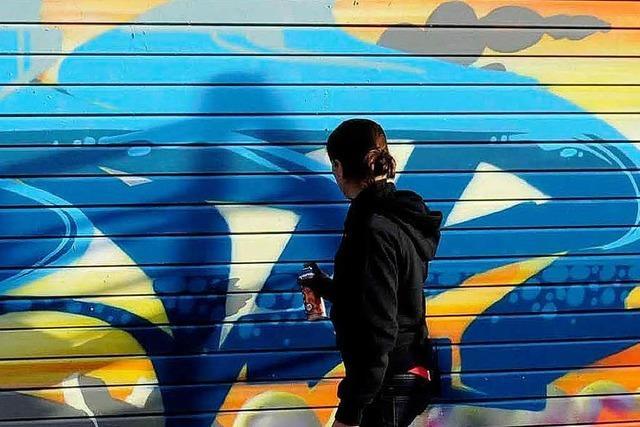 Video: Graffiti-Star Mad C in Lahr