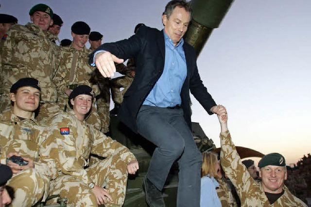 Unbequeme Fragen an Tony Blair