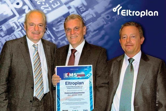Eltroplan: Elektronikdienstleister des Jahres