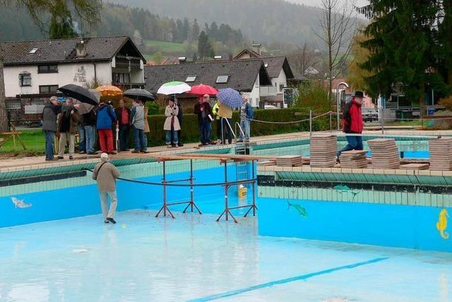 Phase zwei der Schwimmbad-Sanierung
