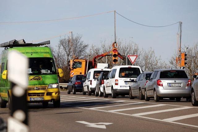 Neue Ampeln an der Autobahn