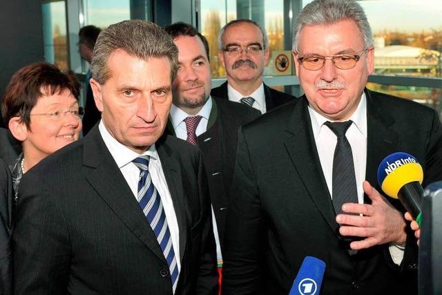 Oettinger wird EU-Kommissar für Energie