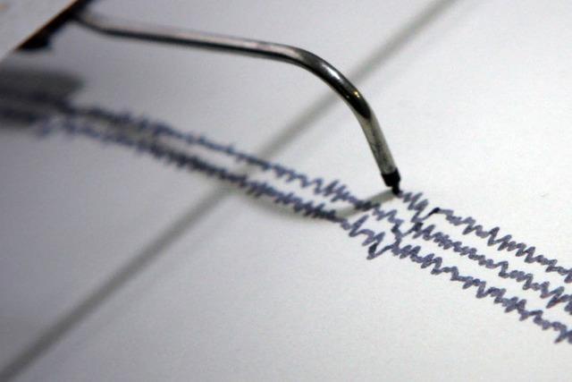 Schwaches Erdbeben in Südbaden