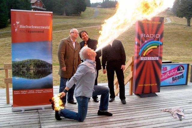 Feldberg in Flammen