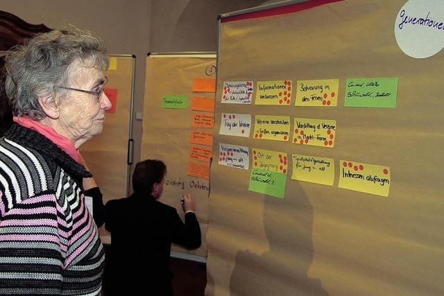 Die Pläne und Ideen werden konkreter