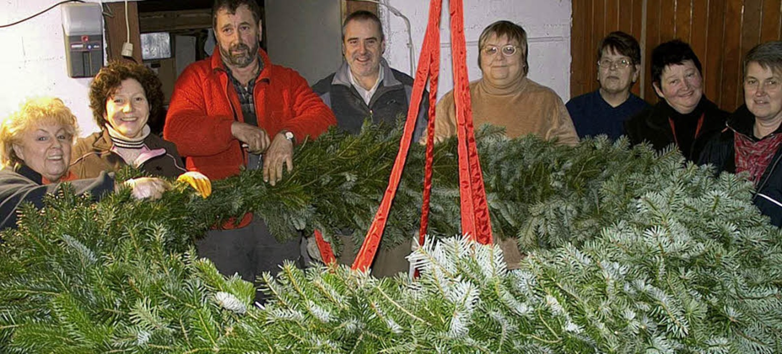 Haben wieder einen wundervollen Advent...er der Schwester-Hemma-Gruppe.          | Foto: hansjörg bader
