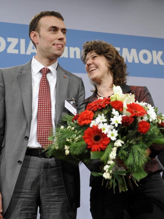 Nils Schmid ersetzt Ute Vogt.  | Foto: dpa