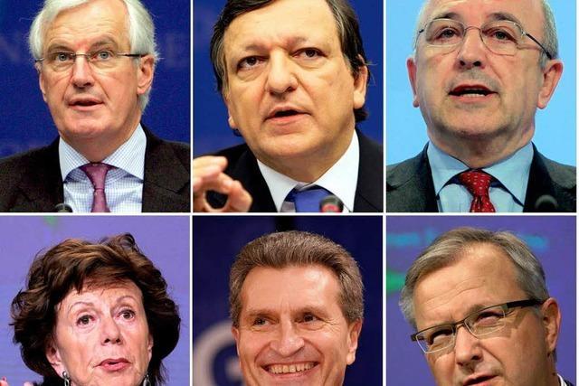 Lauter alte Hasen bei der EU