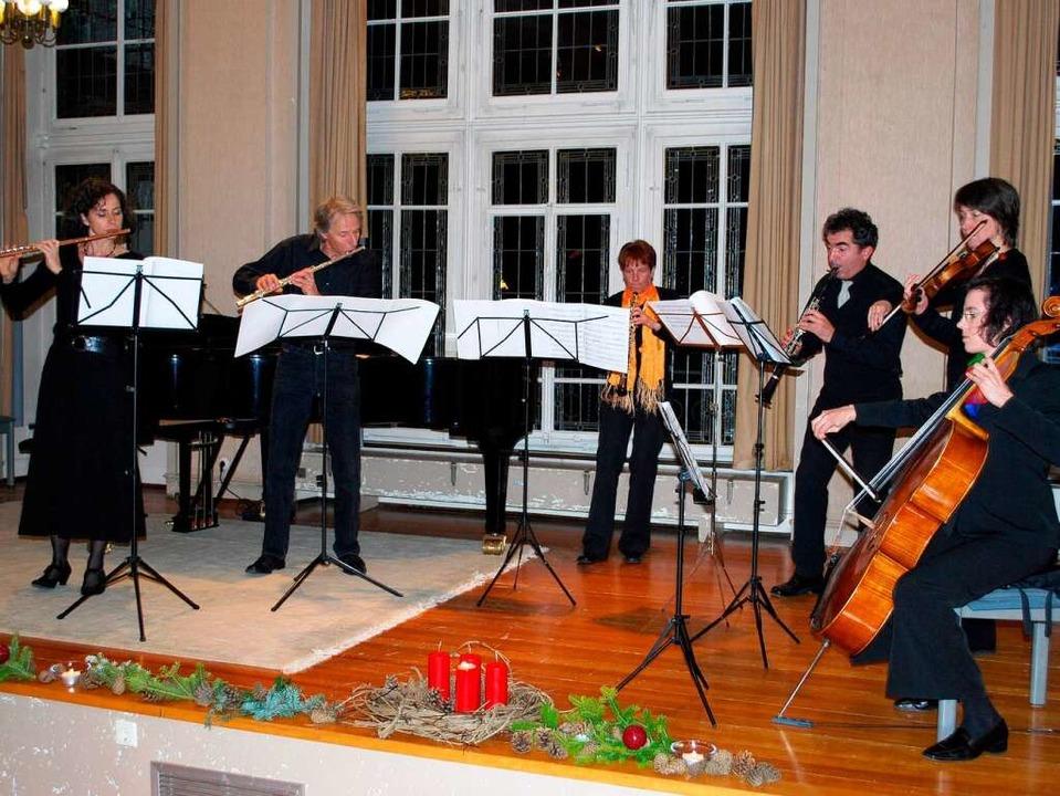Friederike Saam, Thomas Kolfhaus, Sand...Miorada, Barbara Baer, Carolin Wyneken  | Foto: Sylvia-Karina Jahn