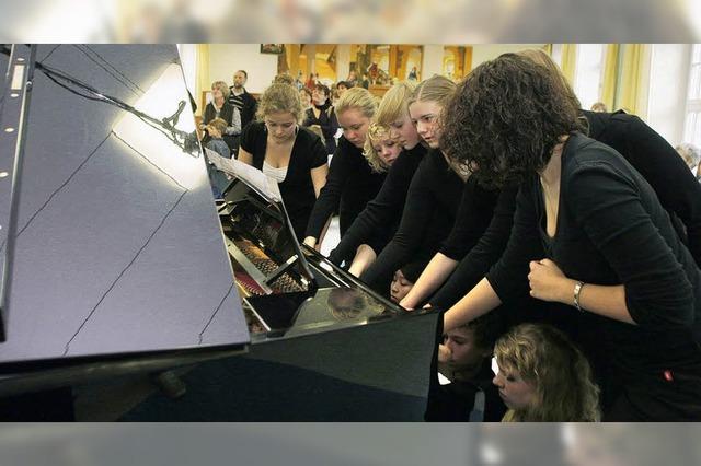 Alles dreht sich ums Klavier