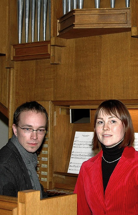 Thomas Leininger und Marni Schwonberg    | Foto: Ounas-Kräusel