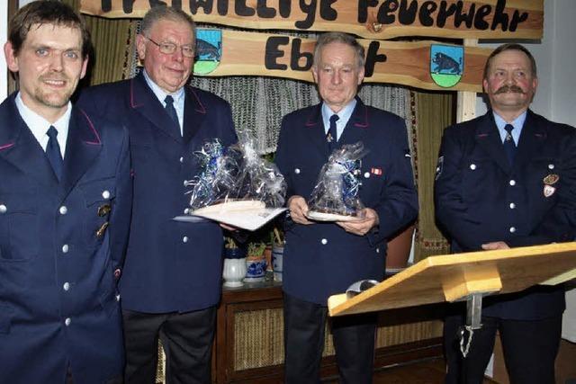 Feuerwehr Ebnet formierte sich vor 50 Jahren