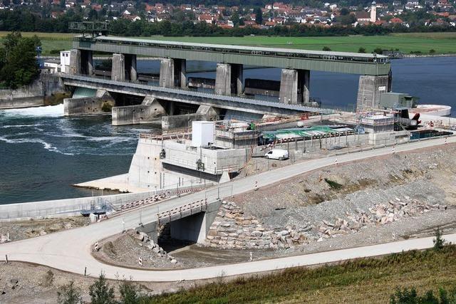 Am Freitag geht das neue Wehrkraftwerk in Betrieb