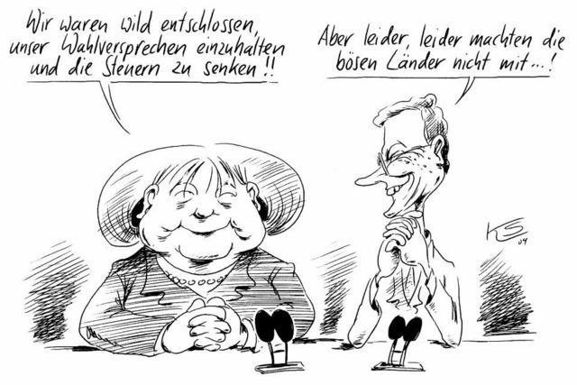 Schwarz-gelber Geheimplan zur Sanierung des Haushalts