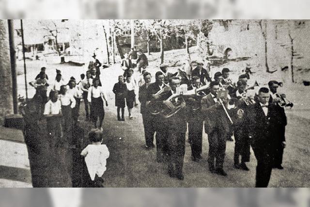Fünf Musiker waren die Vorreiter